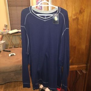 NWT Roundtree & Yorke Navy Blue Sweater